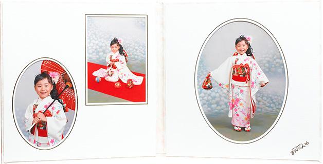 六切り写真2面/3ポーズ