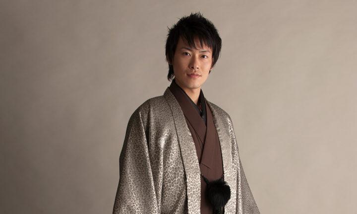 成人式 男性 紋付袴展示会 4月13日から