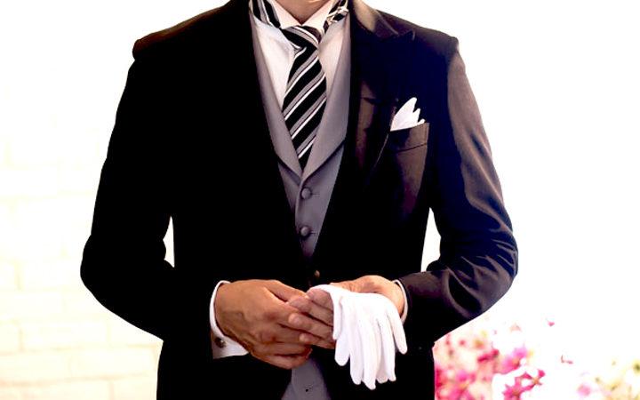 結婚式、挙式の父親の服装