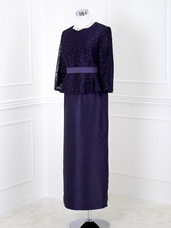 結婚式お母さまドレス