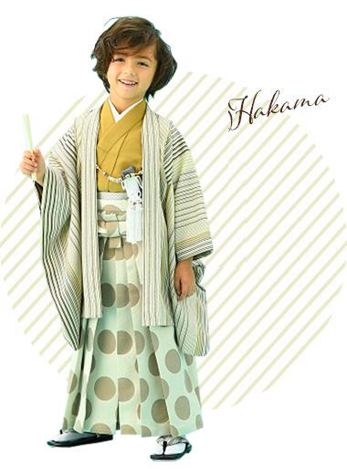 男児羽織袴